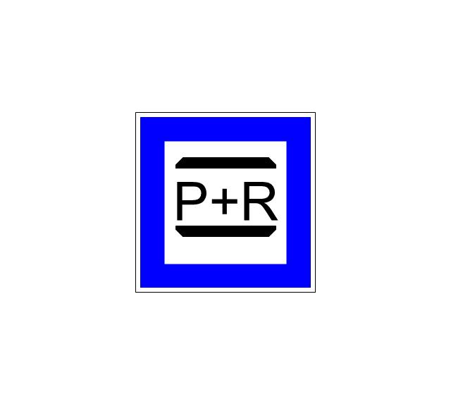 P + R, P + R,