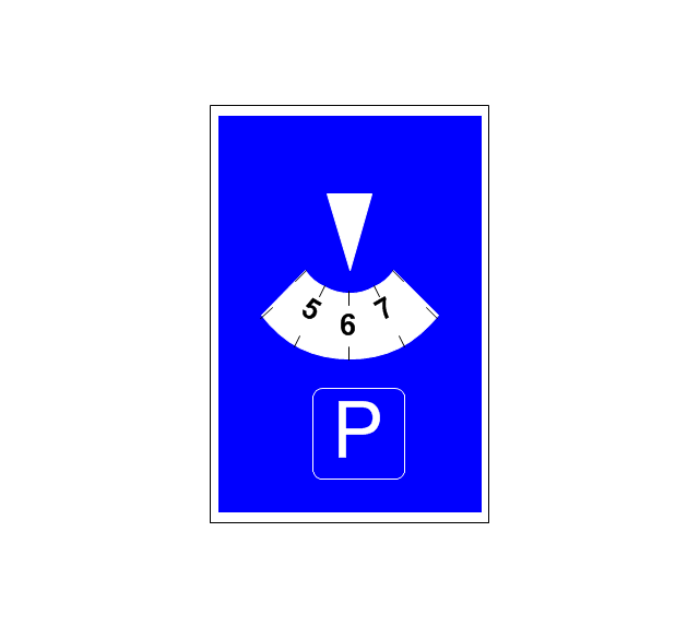 Parking with clock, parking with clock,