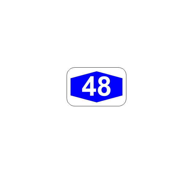Number sign (motorway), number sign, motorway,