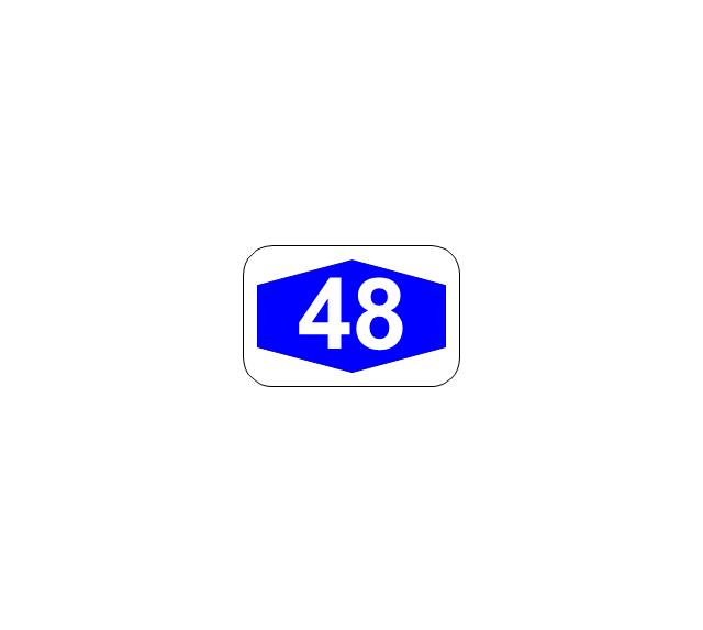 Number sign (motorway), number sign, motorway,