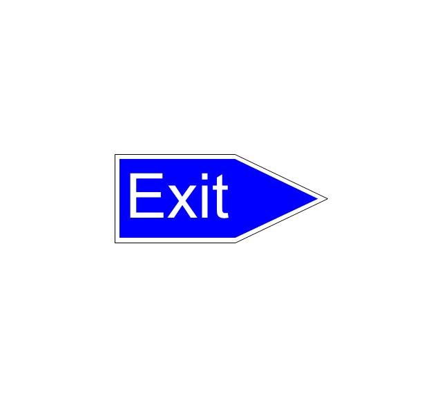 Exit, exit,