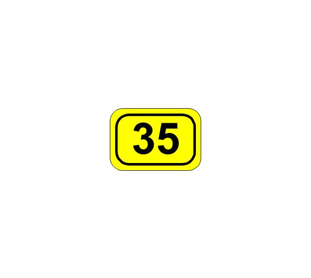 Number sign (federal highway), number sign, federal highway,