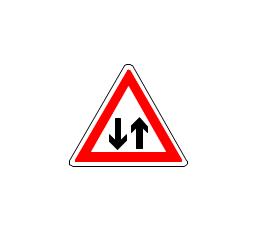 Two-way traffic, two-way traffic,