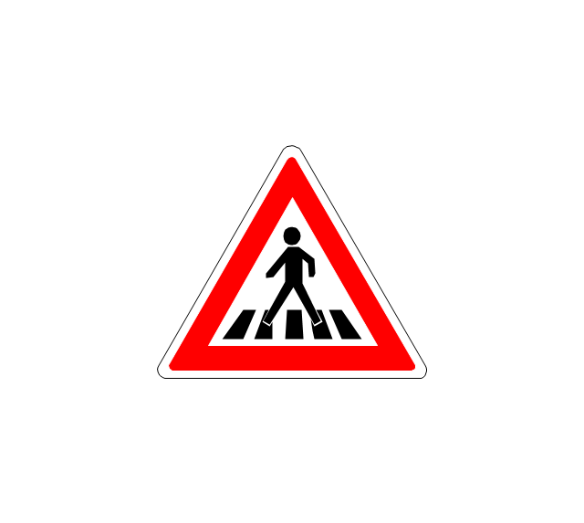 Pedestrian crossing, pedestrian crossing,