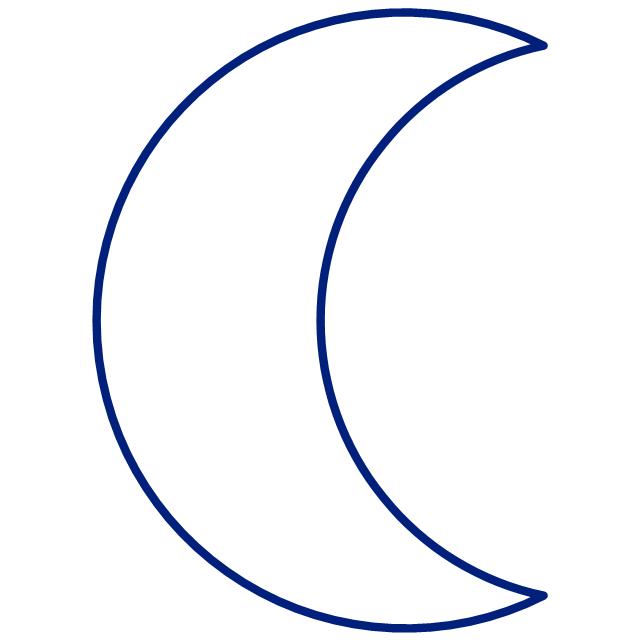 Moon symbol, Moon symbol,