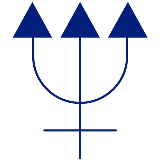 Neptune symbol, Neptune symbol,