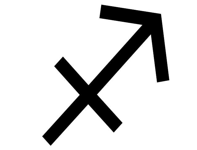 Sagittarius sign, Sagittarius symbol, Sagittarius sign,
