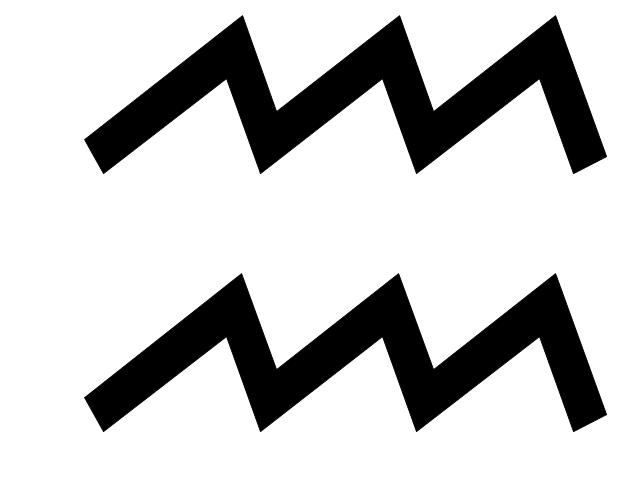 Aquarius sign, Aquarius symbol, Aquarius sign,