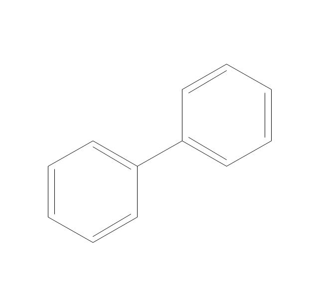 Biphenyl, diphenyl,