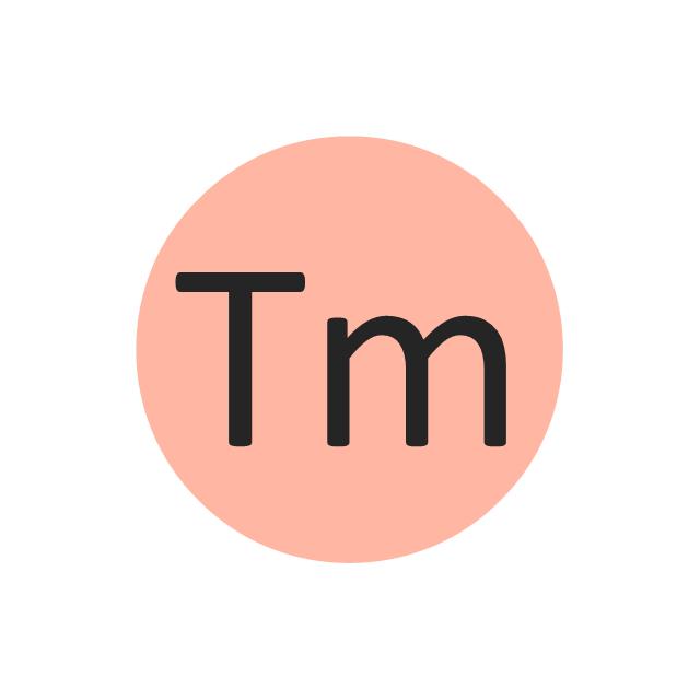 Thulium (Tm), thulium, Tm,