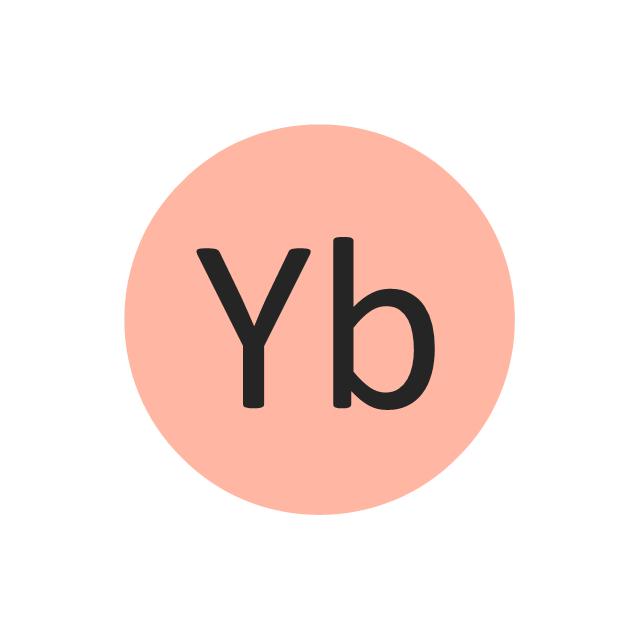 Ytterbium (Yb), ytterbium, Yb,