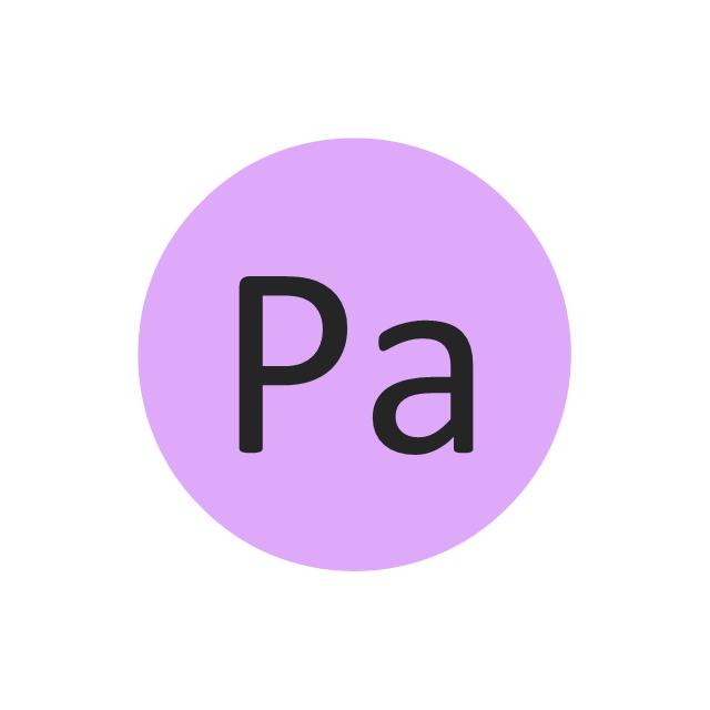 Protactinium (Pa), protactinium, Pa,