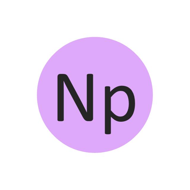 Neptunium (Np), neptunium, Np,