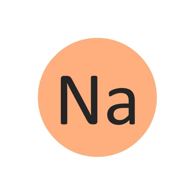Sodium (Na), sodium, Na,