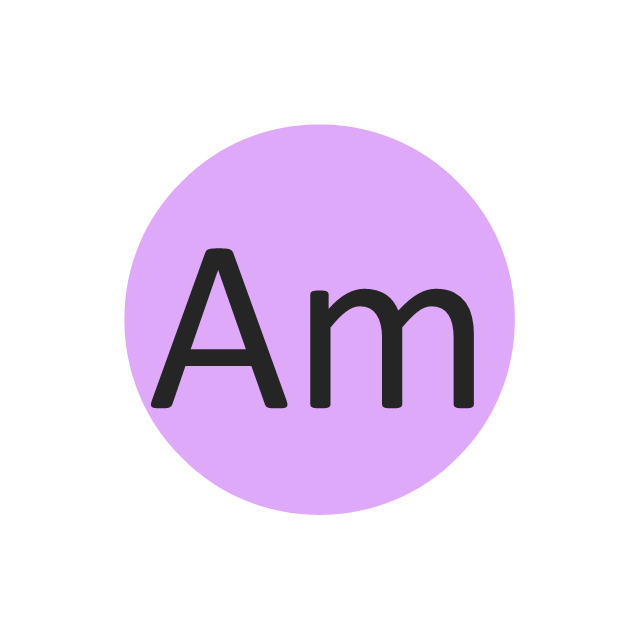 Americium (Am), americium, Am,