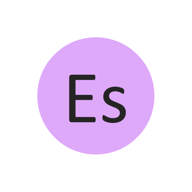 Einsteinium (Es), einsteinium, Es,