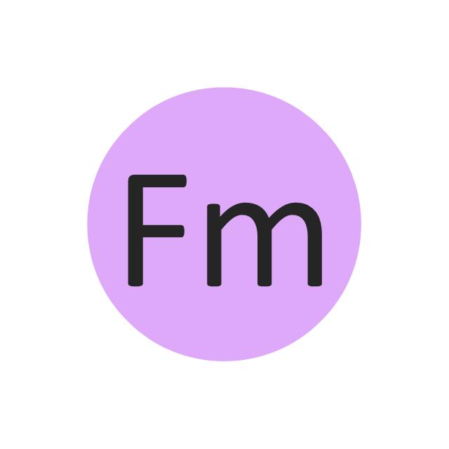 Fermium (Fm), fermium, Fm,
