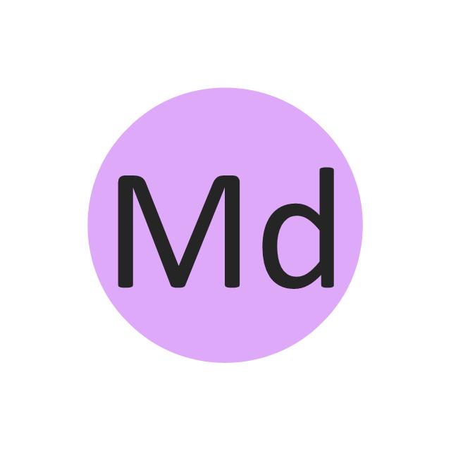 Mendelenium (Md), mendelenium, Md,