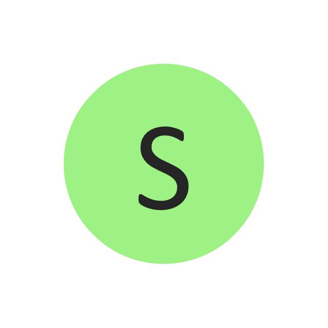 Sulfur (S), sulfur, S,
