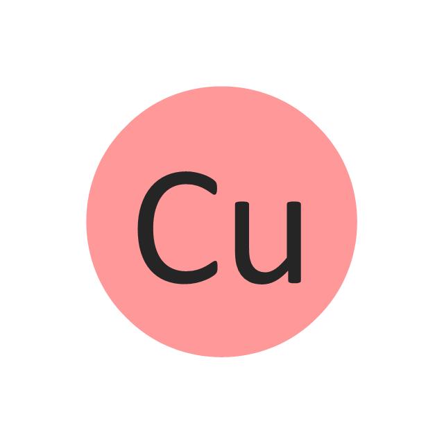 Copper (Cu), copper, Cu,