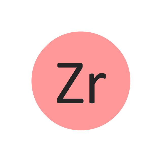 Zirconium (Zr), zirconium, Zr,