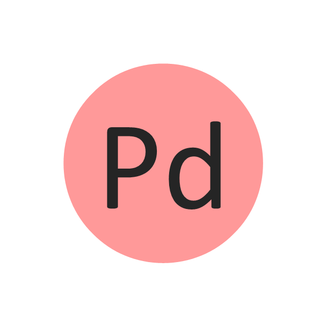 Palladium (Pd), palladium, Pd,
