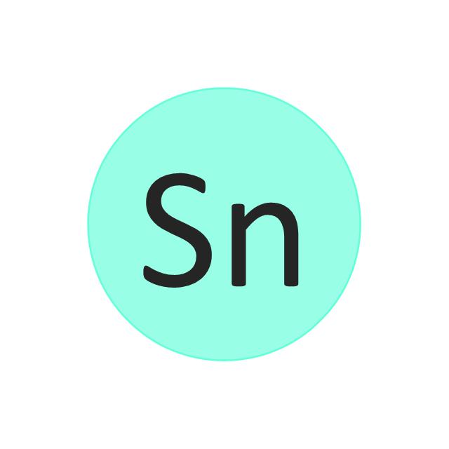 Tin (Sn), tin, Sn,