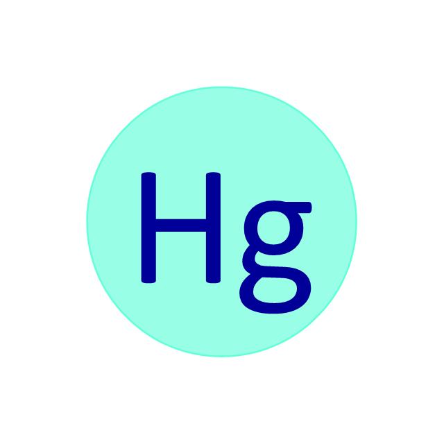 Mercury (Hg), mercury, Hg,