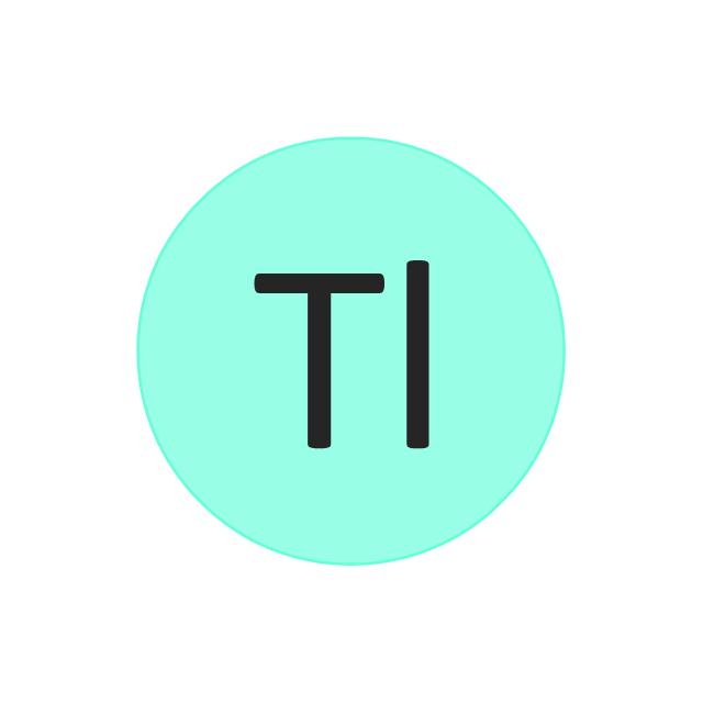 Thallium (Tl), thallium, Tl,