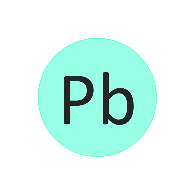 lead pb Lead is a chemical element with the symbol pb (latin: plumbum) and atomic number 82 a soft, heavy, toxic and malleable poor metal, lead is bluish white when fr.