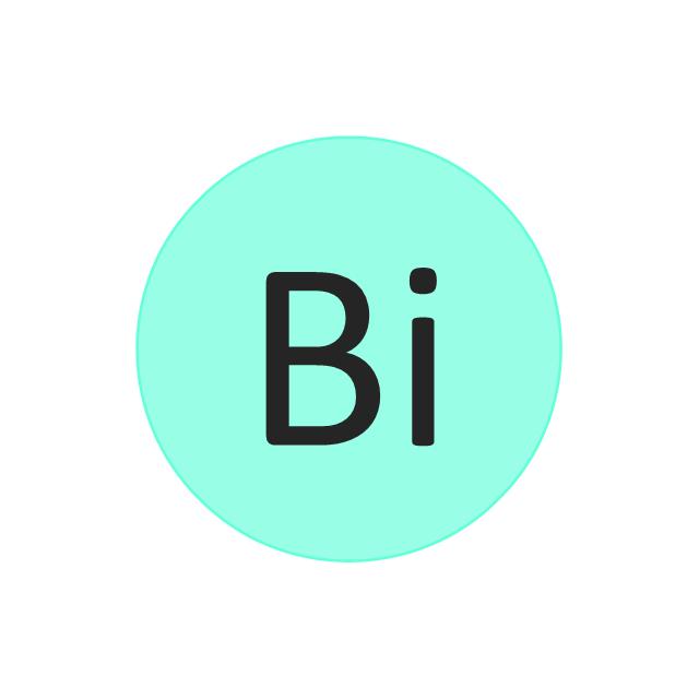 Bismuth (Bi), bismuth, Bi,