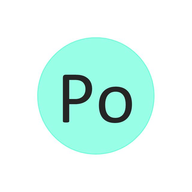 Polonium (Po), polonium, Po,