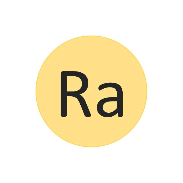 Radium (Ra), radium, Ra,
