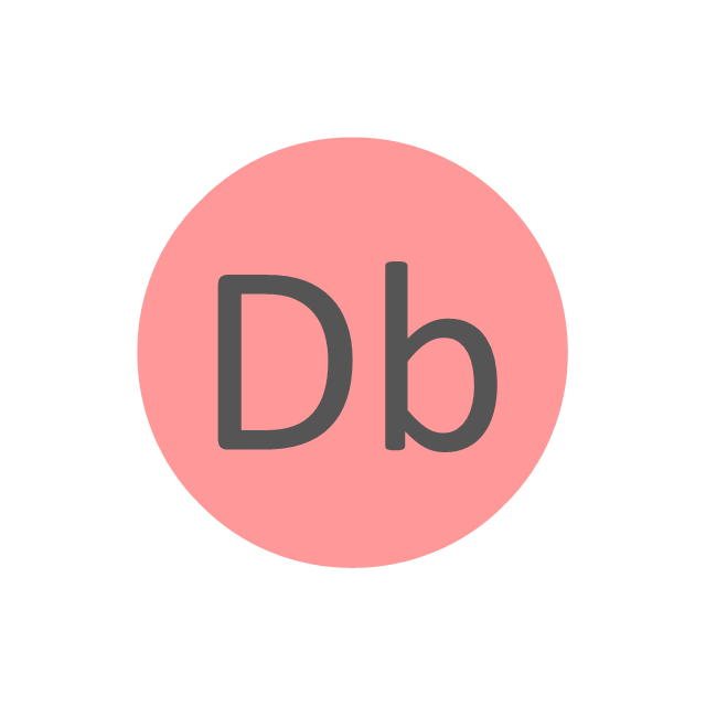 Dubnium (Db), dubnium, Db,