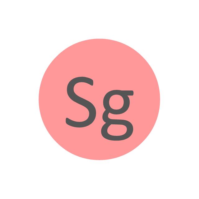 Seaborgium (Sg), seaborgium, Sg,