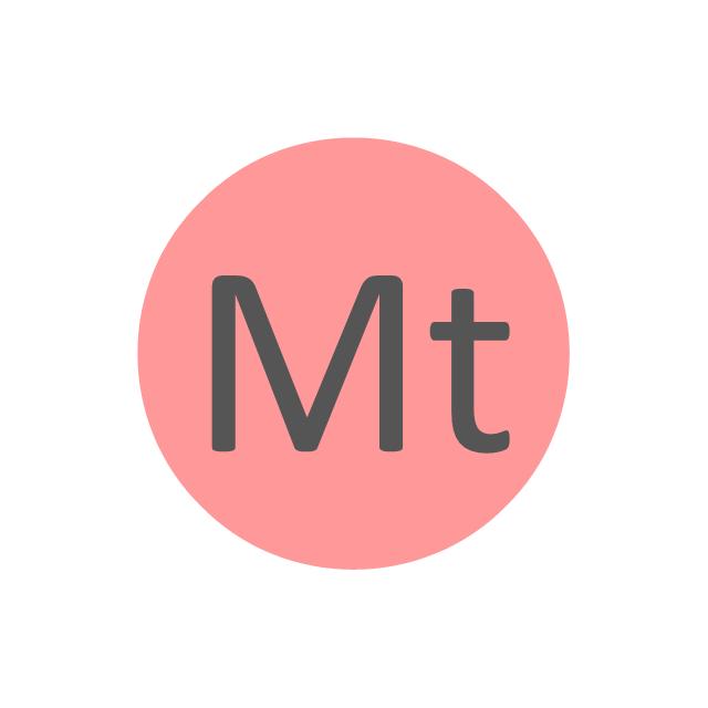 Meitnerium (Mt), meitnerium, Mt,