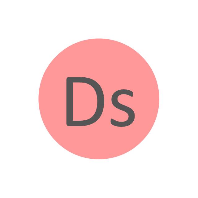 Darmstadtium (Ds), darmstadtium, Ds,