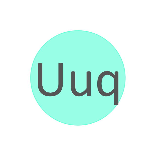 Chemical elements vector stencils library design elements ununquadium uuq ununquadium uuq urtaz Image collections