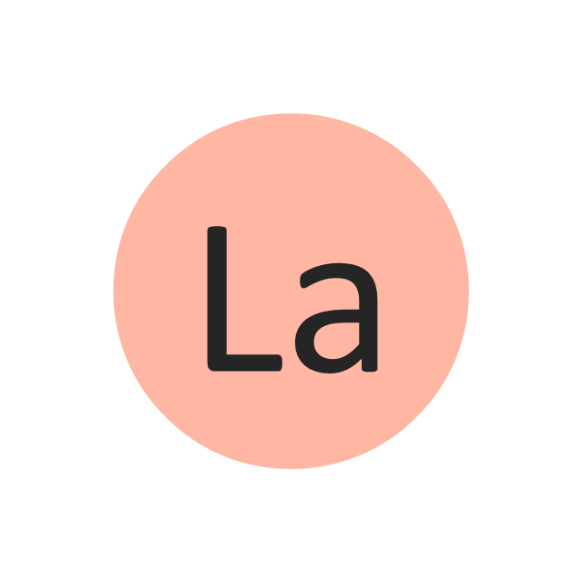 Lanthanum (La), lanthanum, La,
