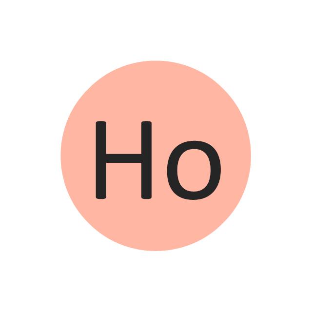 Holmium (Ho), holmium, Ho,