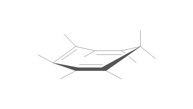 Cycloheptane: equatorial form, cycloheptane, equatorial form,