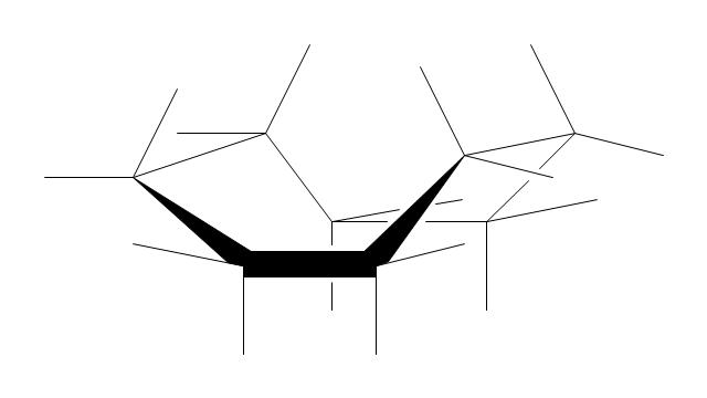 Cyclooctane: boat conformation, cyclooctane, boat conformation,