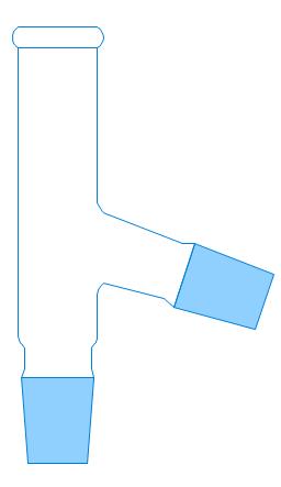 Y-Adaptor, distillation adapter,