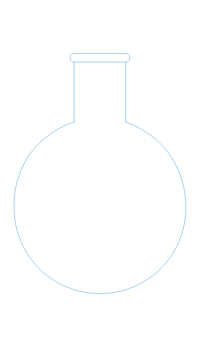 Round-bottom flask, 250ml, boiling flask,