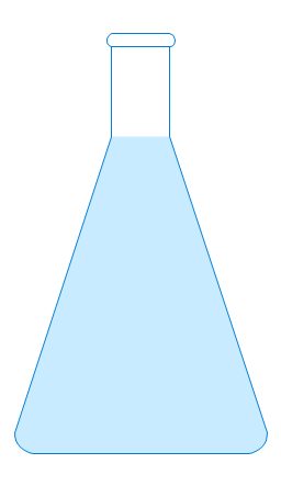 chemistry uncertainty conical flask essay The tapered sides and narrow neck of this flask allow the contents of the flask to  be mixed by swirling, without risk of spillage,.
