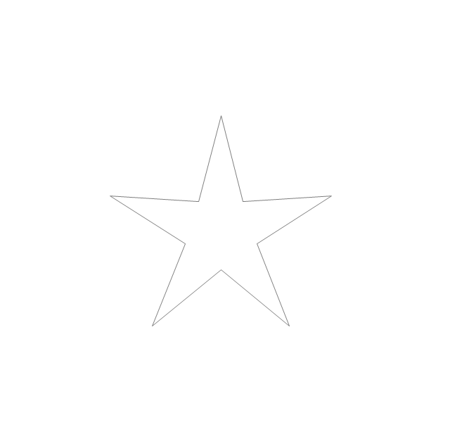 Five-pointed star, star,