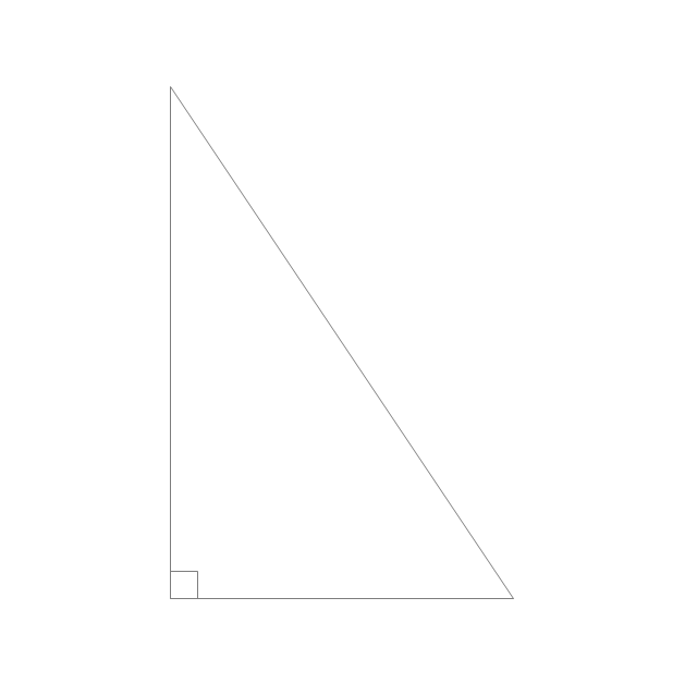 Right triangle, angle box, right triangle,