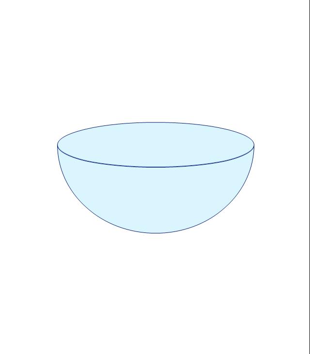 Hemisphere, half sphere,