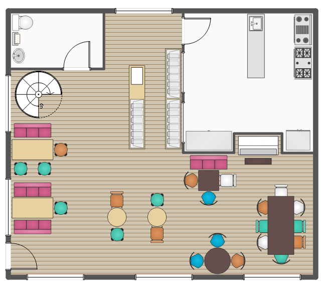 Cafe And Restaurant Floor Plans How To Create Restaurant