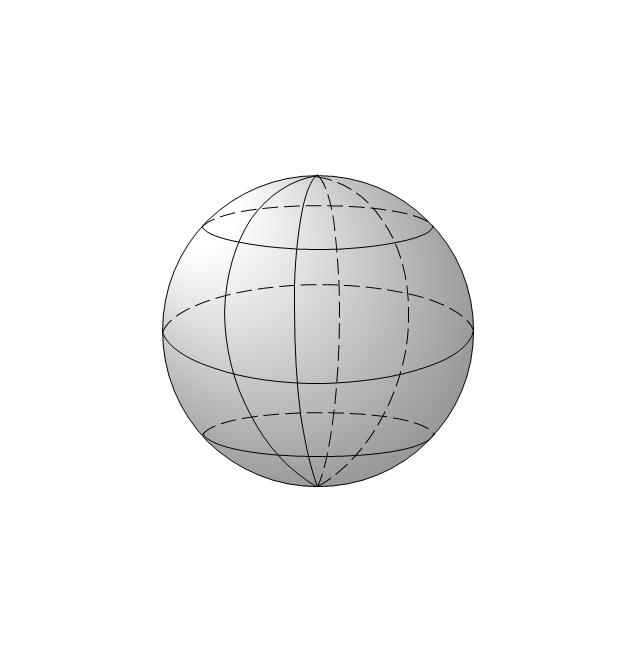 Globe, parallels, meridians, Earth, globe,